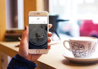 iphone-digital-marketing-Le coin Francais Restaurant-website-design-services